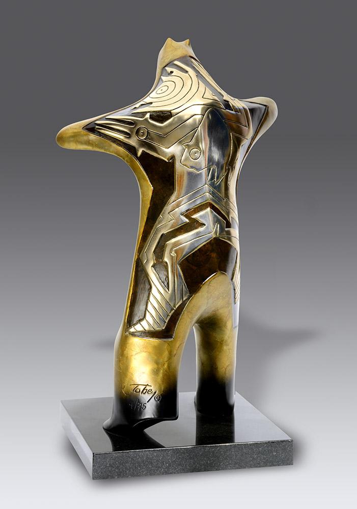 Prometheus | Gene & Rebecca Tobey | Sculpture-Exposures International Gallery of Fine Art - Sedona AZ