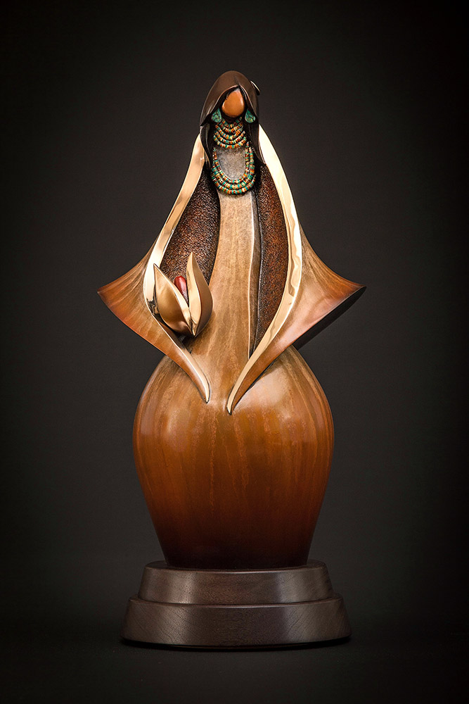 First Corn | Kim Obrzut | Sculpture-Exposures International Gallery of Fine Art - Sedona AZ