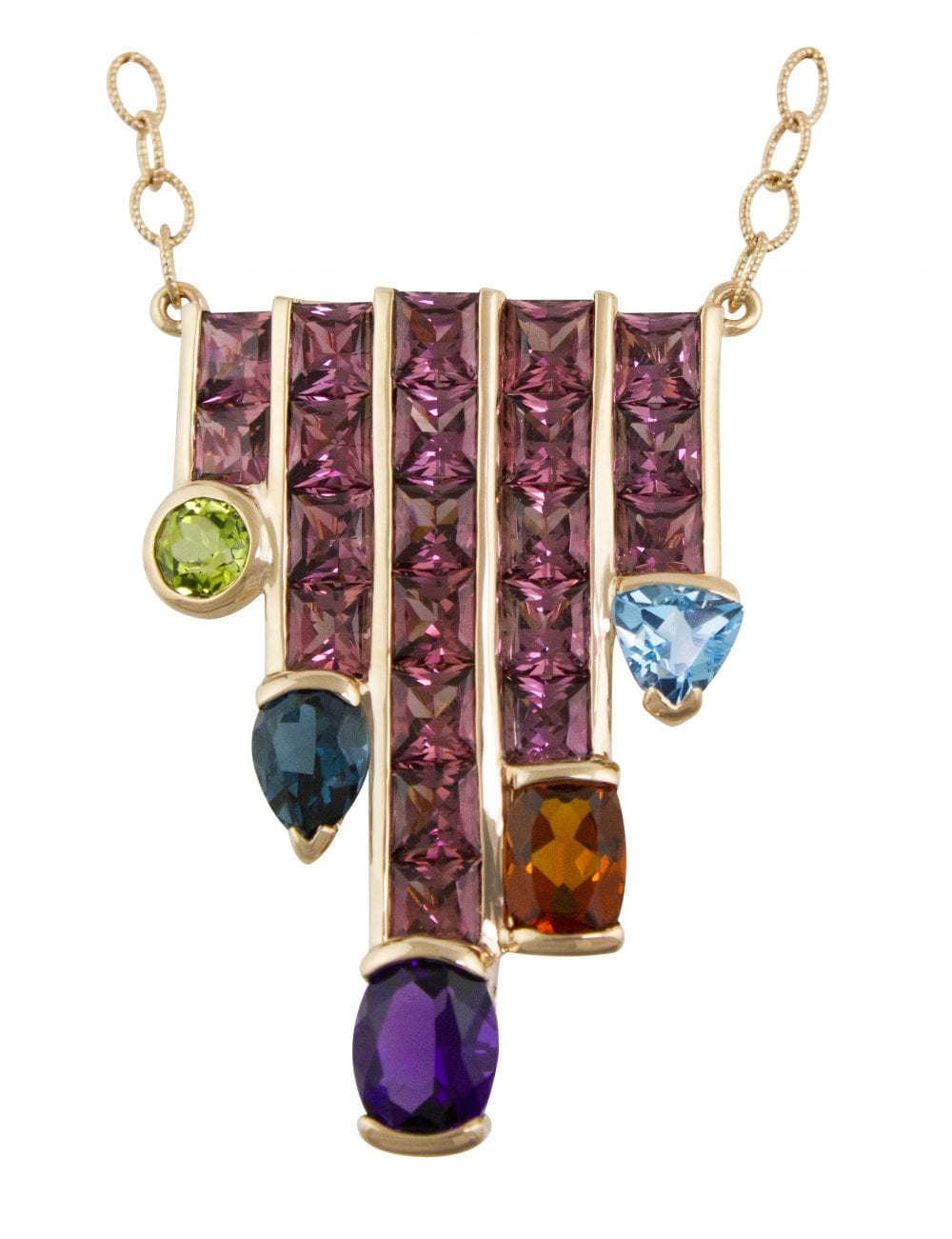 Capri Nouveau Pendant II | Bellarri | Jewelry-Exposures International Gallery of Fine Art - Sedona AZ