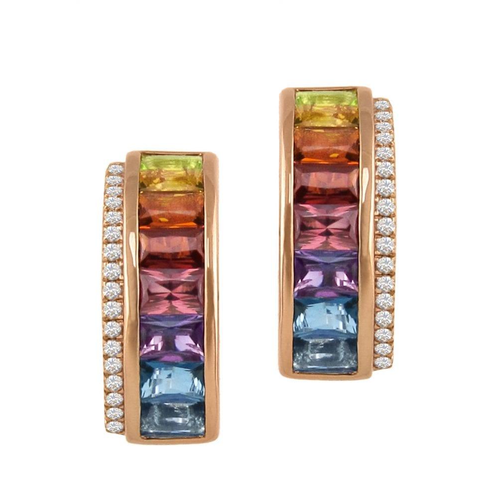 Eternal Love Multi Earrings II | Bellarri | Jewelry-Exposures International Gallery of Fine Art - Sedona AZ