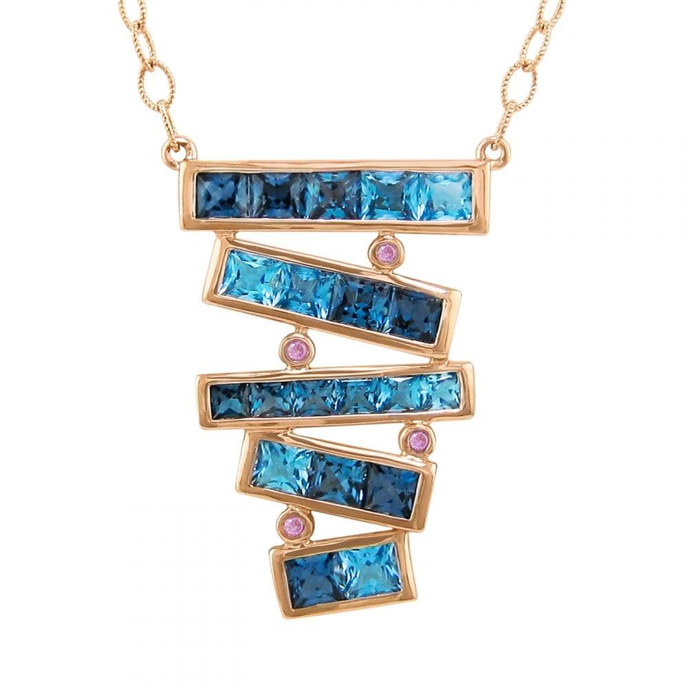 Eternal Love Stiletto Pendant   Bellarri   Jewelry-Exposures International Gallery of Fine Art - Sedona AZ