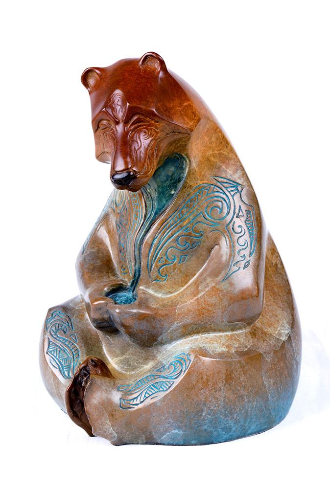 Small Hilo | John Maisano | Sculpture-Exposures International Gallery of Fine Art - Sedona AZ