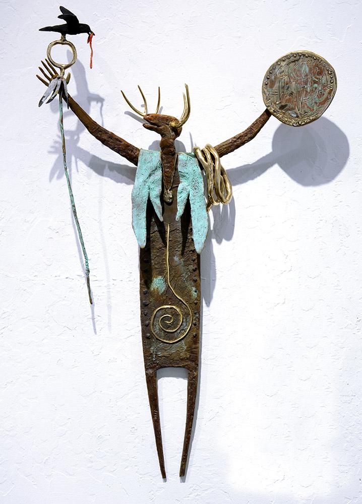 The Guide | Bill Worrell | Sculpture-Exposures International Gallery of Fine Art - Sedona AZ