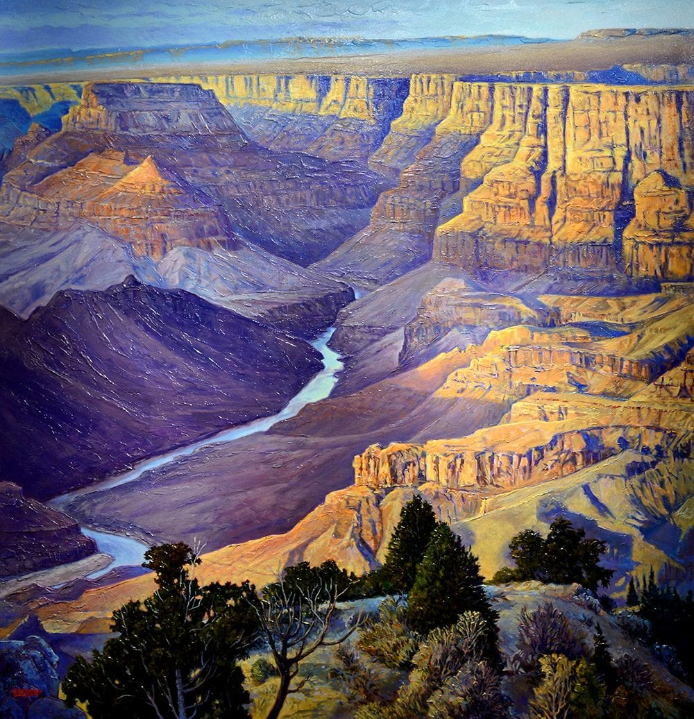Grand Vista | John Burrow | Painting-Exposures International Gallery of Fine Art - Sedona AZ