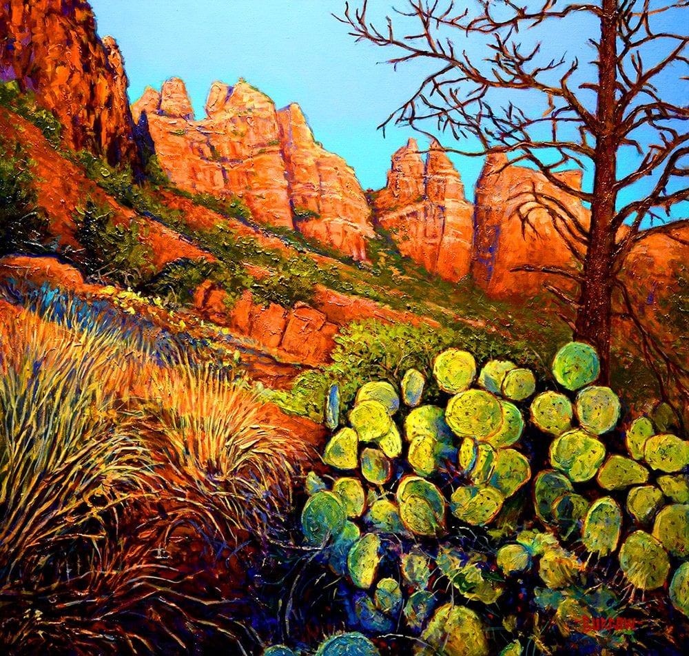 Marg's Draw | John Burrow | Painting-Exposures International Gallery of Fine Art - Sedona AZ