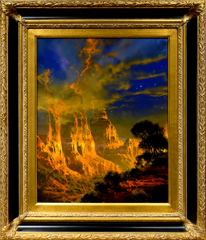 As the Light Turns to Gold | Dale Terbush | Painting-Exposures International Gallery of Fine Art - Sedona AZ