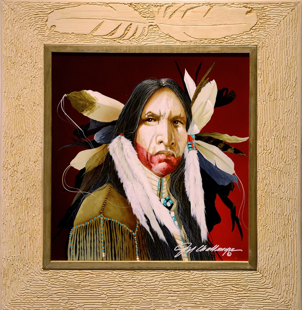 Spirit of the White Feather | Jd Challenger | Painting-Exposures International Gallery of Fine Art - Sedona AZ