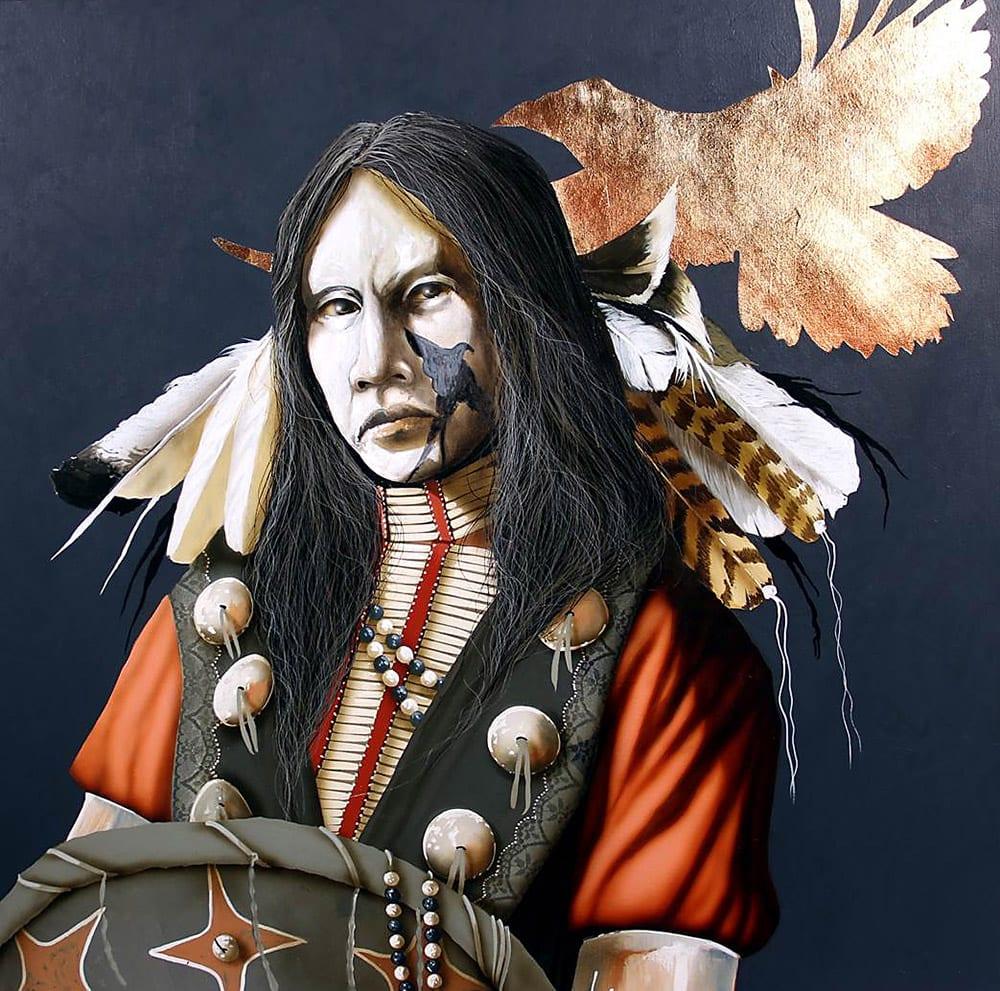 Raven's Spirit | Jd Challenger | Painting-Exposures International Gallery of Fine Art - Sedona AZ