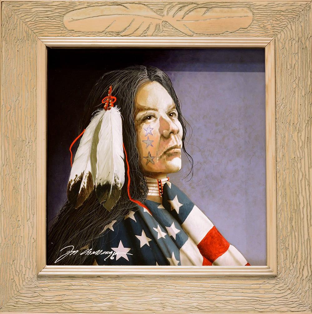 Power for the Powerless | Jd Challenger | Painting-Exposures International Gallery of Fine Art - Sedona AZ
