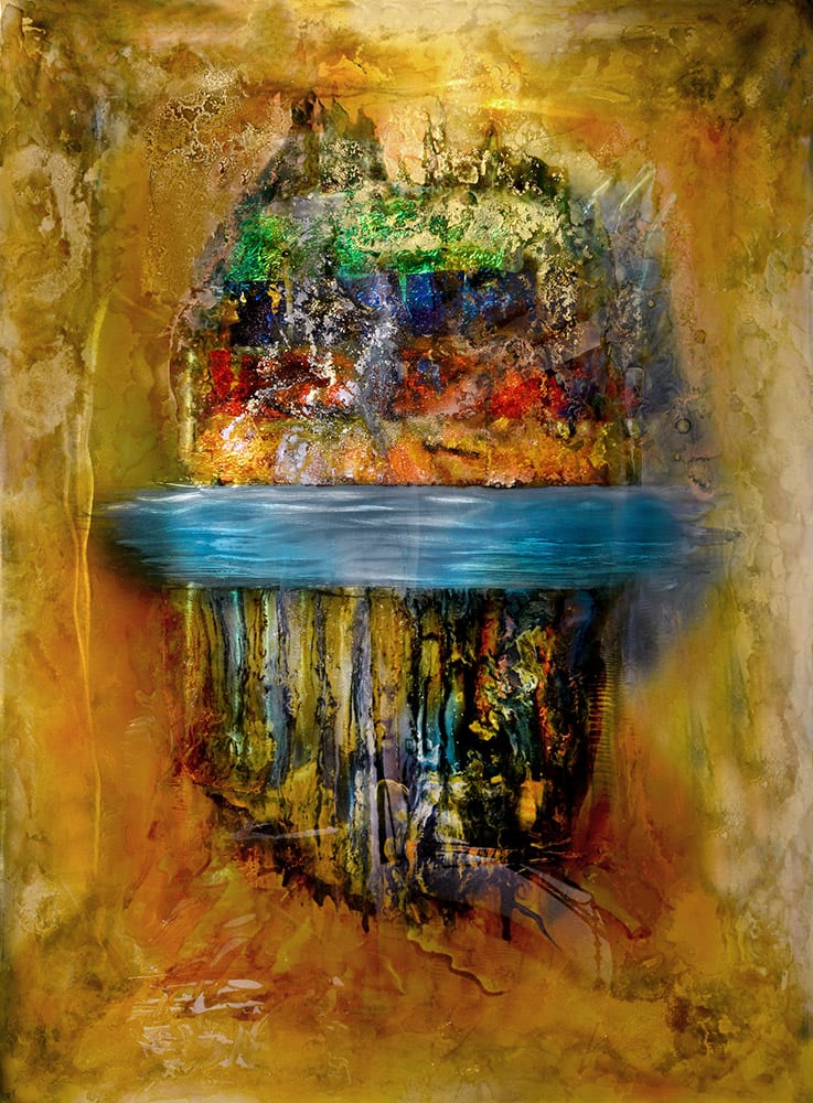 In Between   Lynn Demiurge   Wall Art-Exposures International Gallery of Fine Art - Sedona AZ