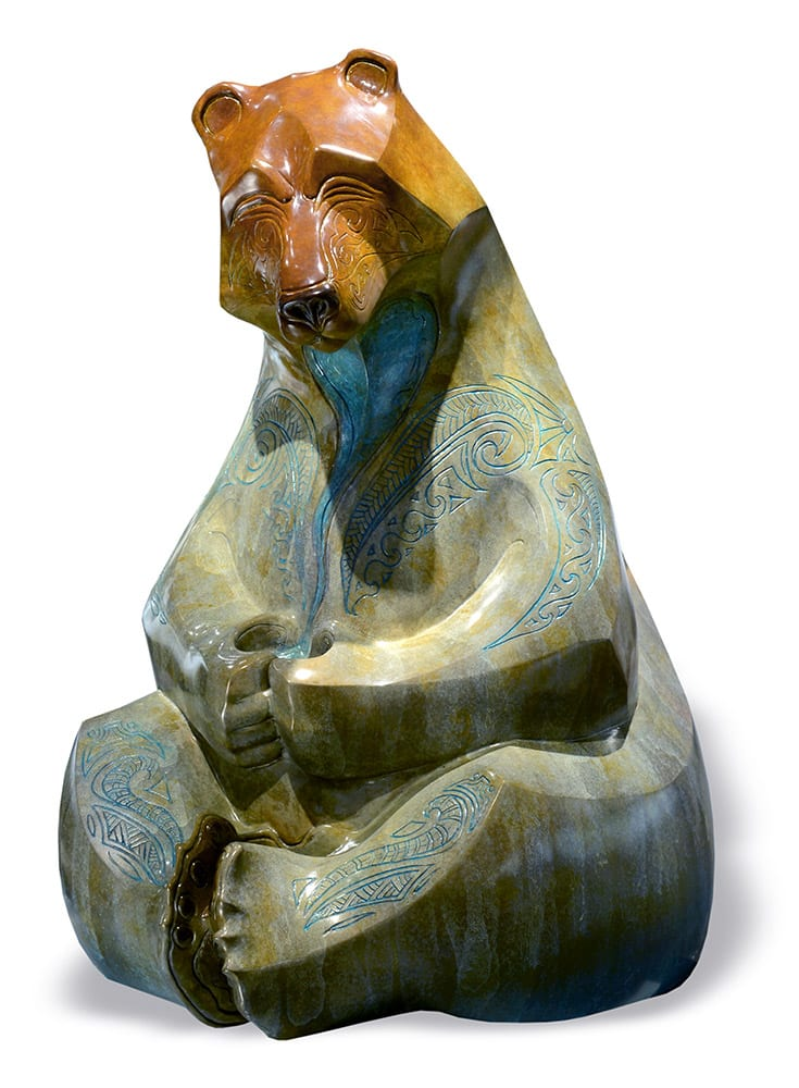 Large Hilo | John Maisano | Sculpture-Exposures International Gallery of Fine Art - Sedona AZ