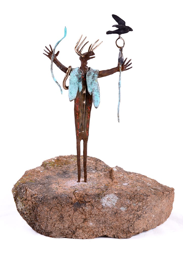 The Storyteller | Bill Worrell | Sculpture-Exposures International Gallery of Fine Art - Sedona AZ