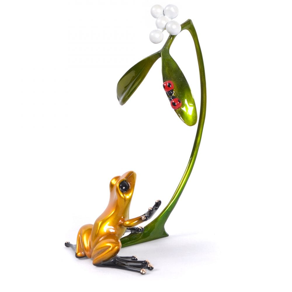 Mistletoe | Frogman | Sculpture-Exposures International Gallery of Fine Art - Sedona AZ