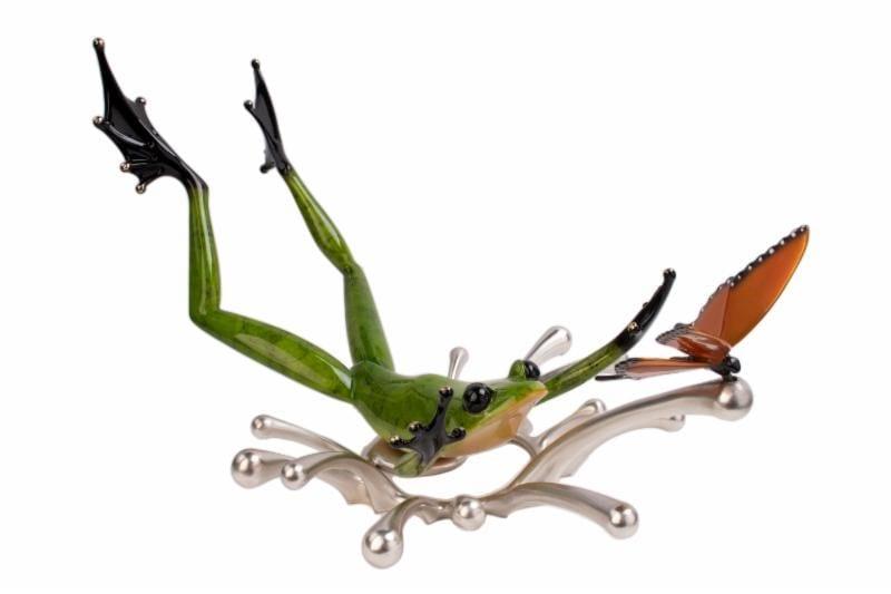 Splashdown | Frogman | Sculpture-Exposures International Gallery of Fine Art - Sedona AZ
