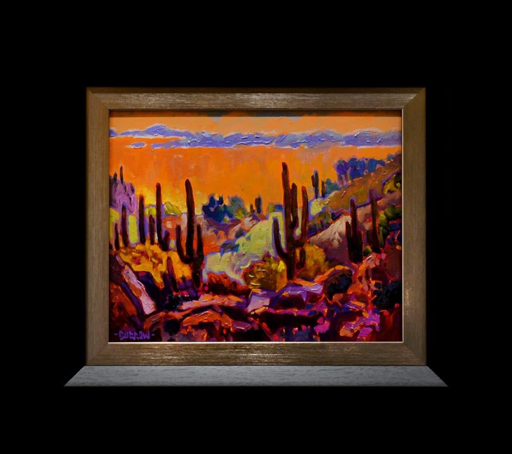 Apache Lake Fall | John Burrow | Painting-Exposures International Gallery of Fine Art - Sedona AZ