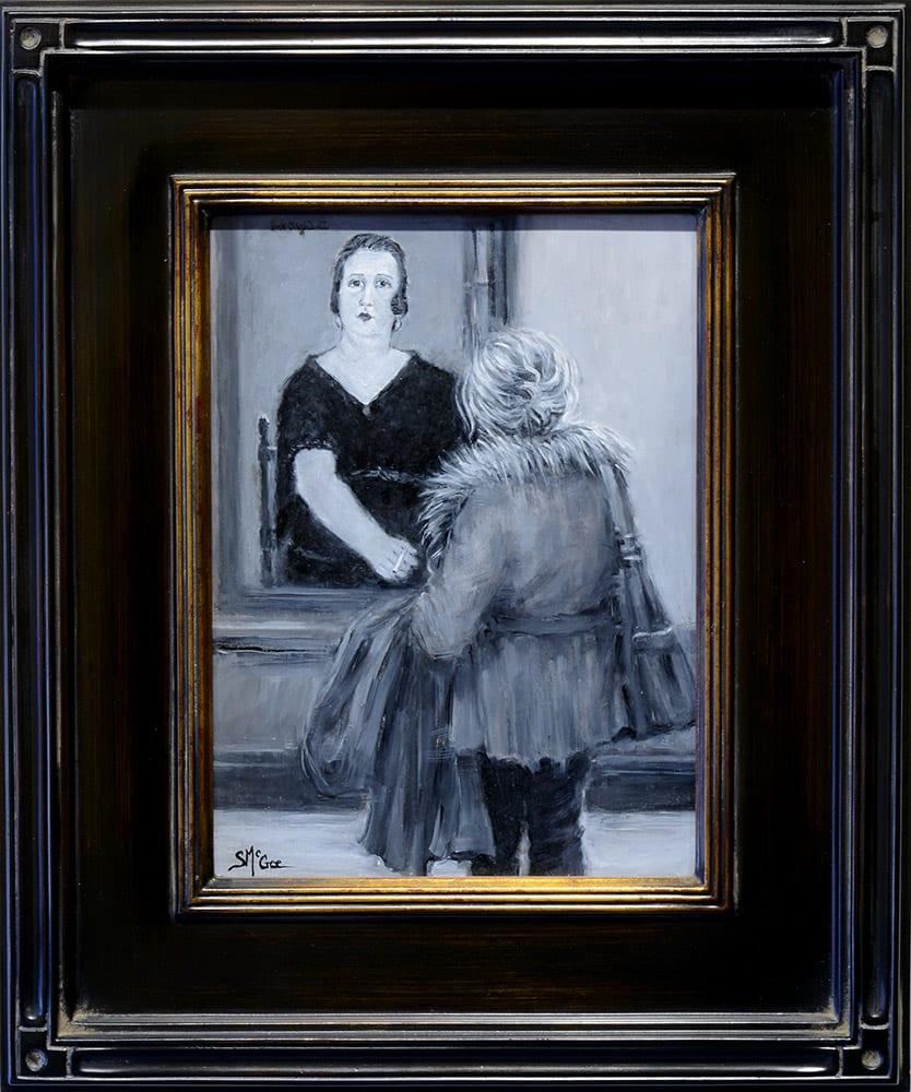 Visiting Mrs. Amadee | September McGee | Painting-Exposures International Gallery of Fine Art - Sedona AZ