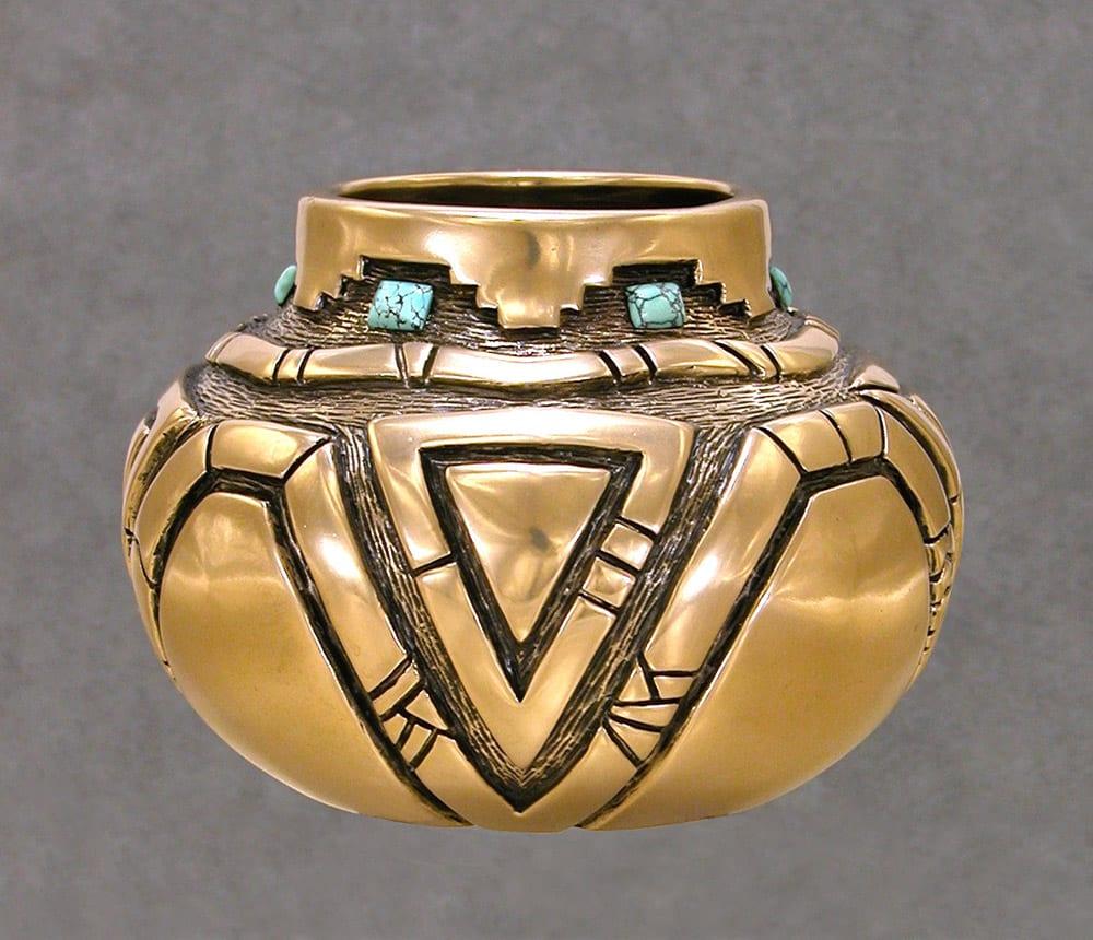 P2004E87 | Fred Ortiz | Sculpture-Exposures International Gallery of Fine Art - Sedona AZ