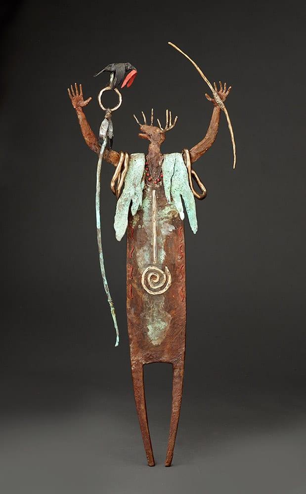 One with Great Spirit | Bill Worrell | Sculpture-Exposures International Gallery of Fine Art - Sedona AZ
