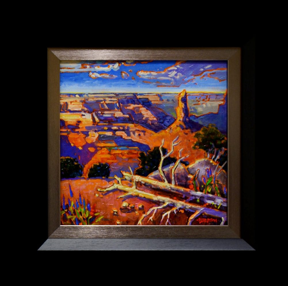 History of the Canyon | John Burrow | Painting-Exposures International Gallery of Fine Art - Sedona AZ