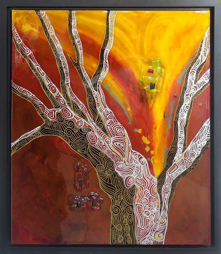 Deep Canyon | Dianne Adams | Painting-Exposures International Gallery of Fine Art - Sedona AZ