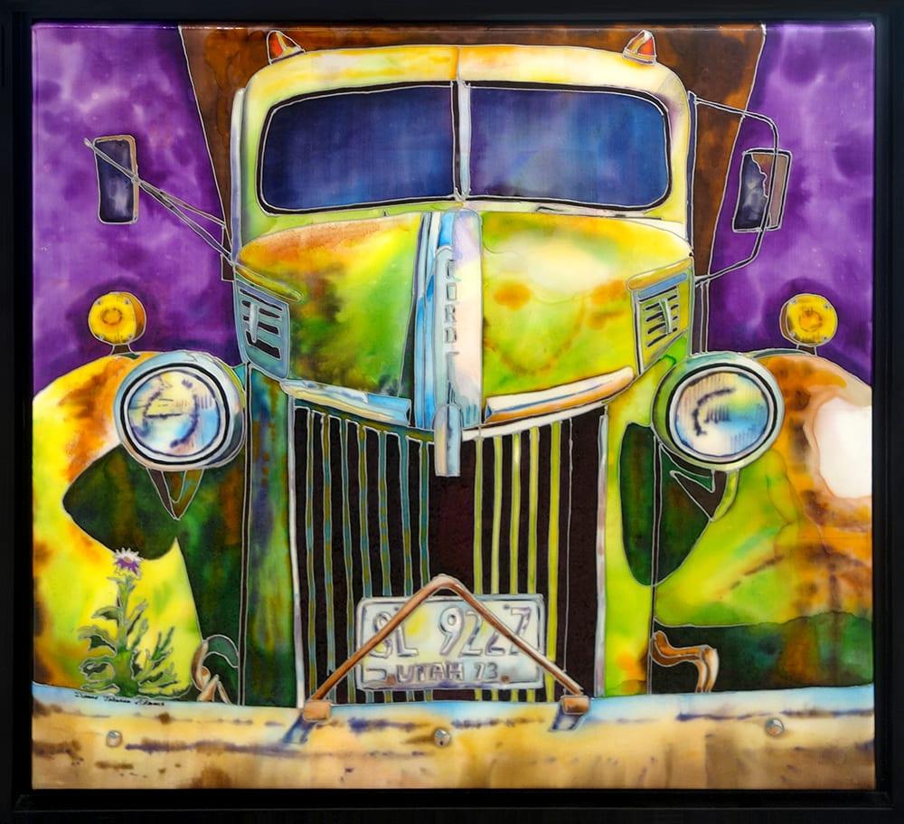 Utah Ford | Dianne Adams | Painting-Exposures International Gallery of Fine Art - Sedona AZ