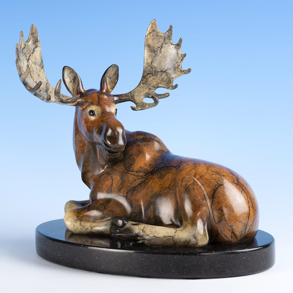 Dapper Dan   Jacques & Mary Regat   Sculpture-Exposures International Gallery of Fine Art - Sedona AZ