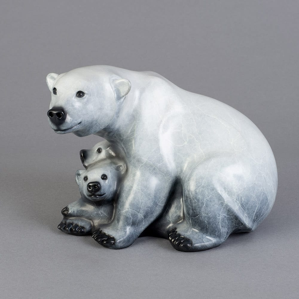 Shelter Cove Maquette | Jacques & Mary Regat | Sculpture-Exposures International Gallery of Fine Art - Sedona AZ