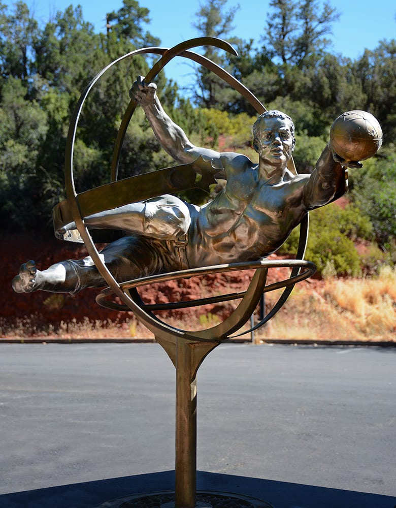 A Man for All Times | Bobbie Carlyle | Sculpture-Exposures International Gallery of Fine Art - Sedona AZ