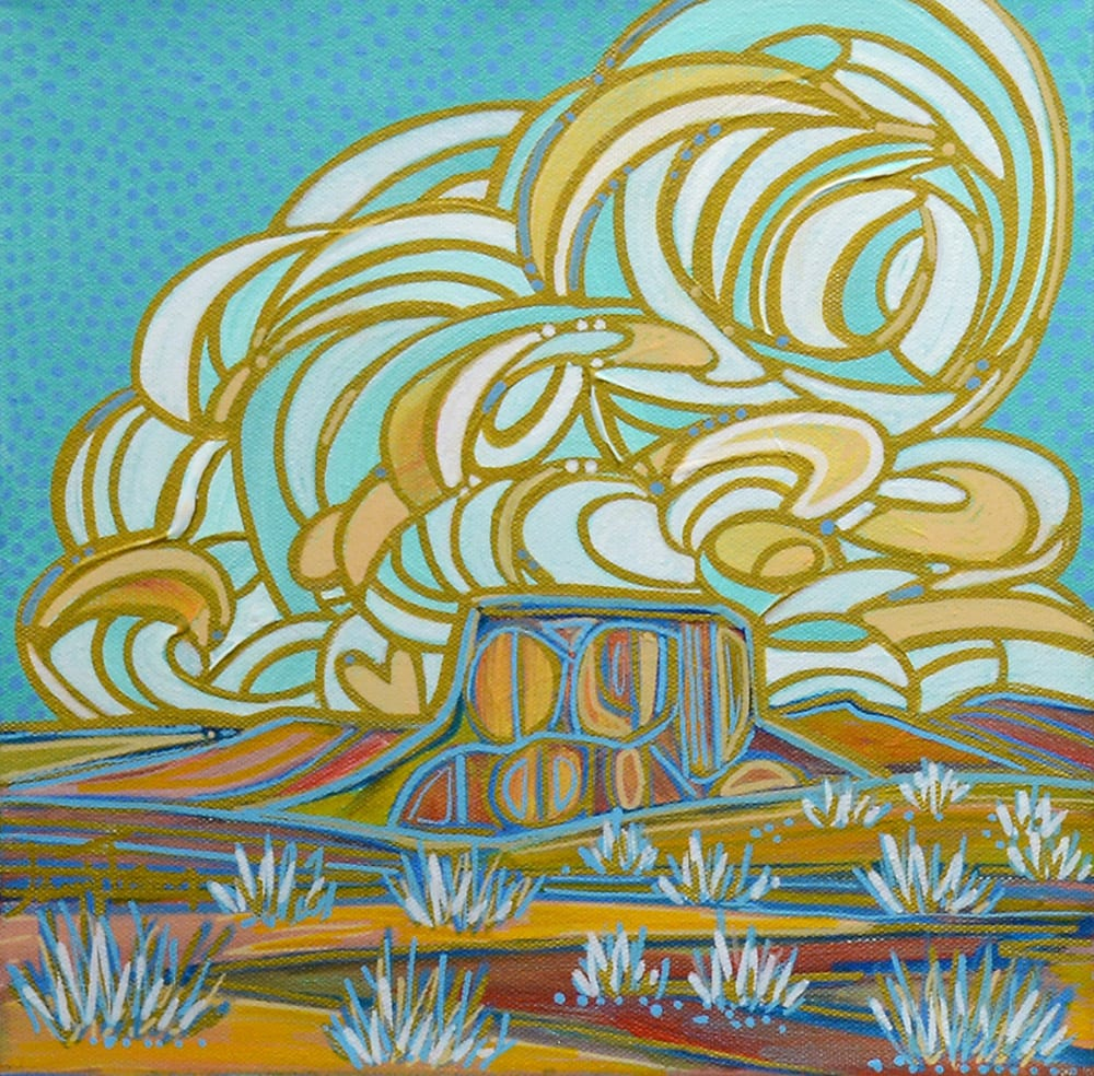 Blue Horizon | Jami Tobey | Painting-Exposures International Gallery of Fine Art - Sedona AZ