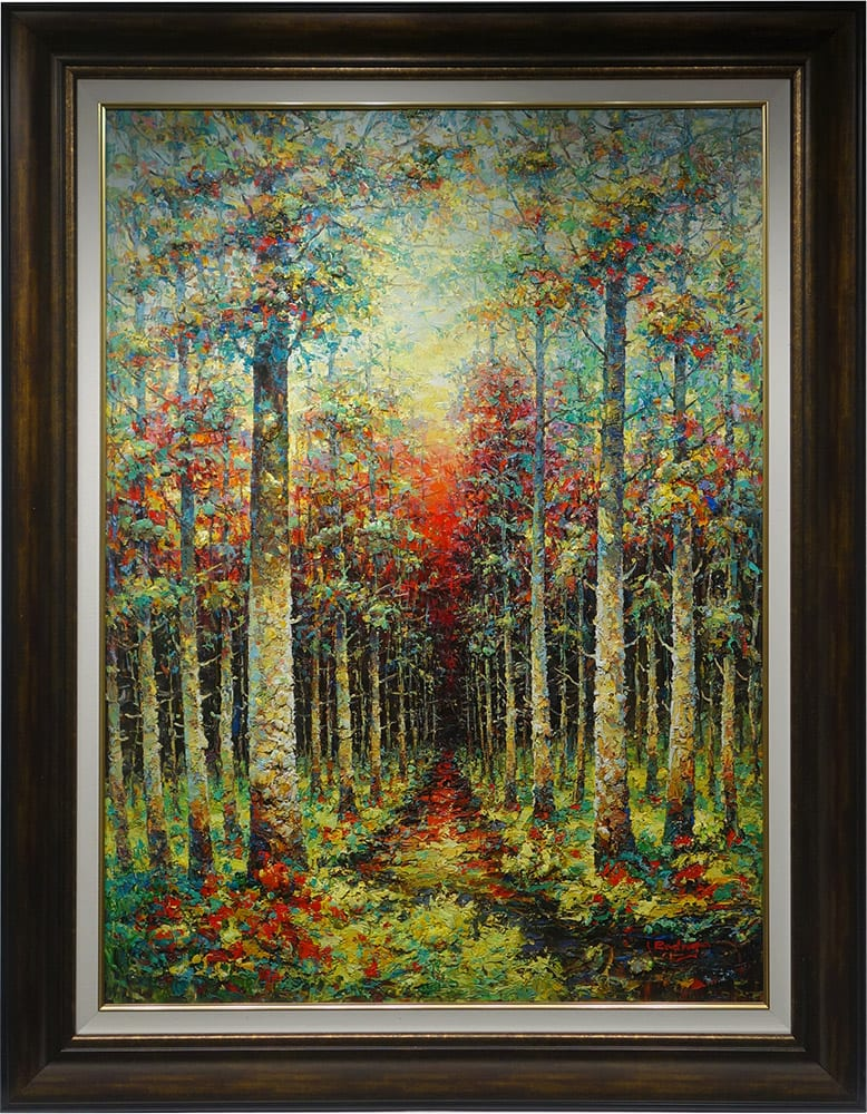 Waiting At Dusk | Rodrigo | Painting-Exposures International Gallery of Fine Art - Sedona AZ