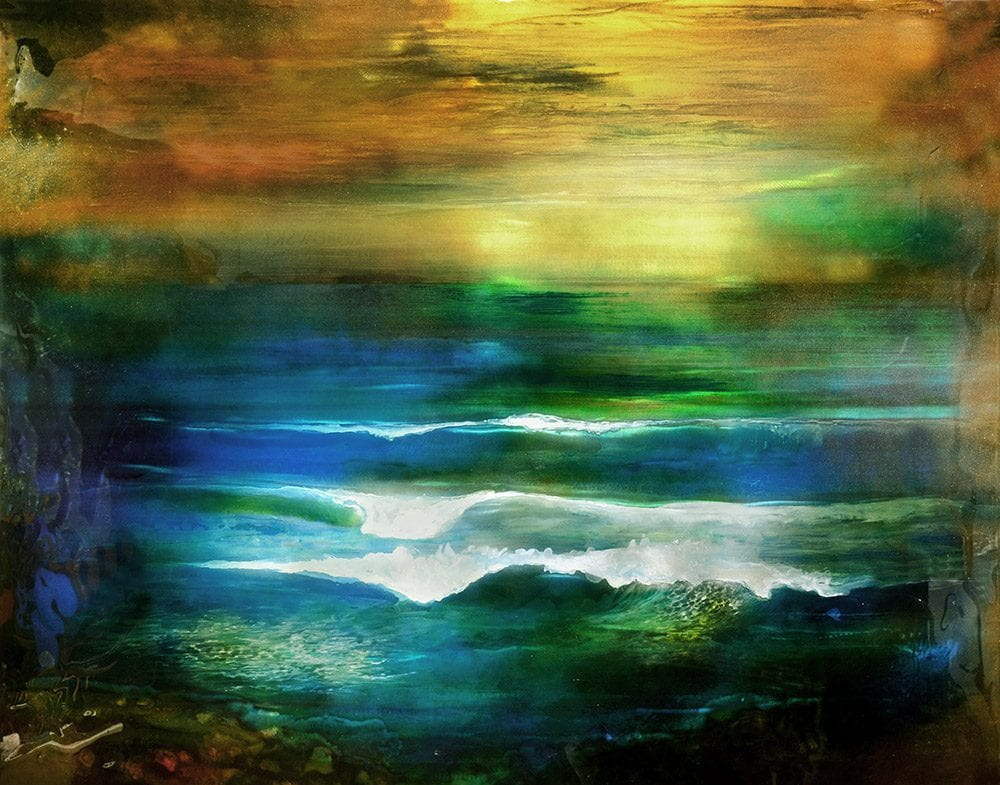 Mediterranean Mist | Lynn Demiurge | Wall Art-Exposures International Gallery of Fine Art - Sedona AZ