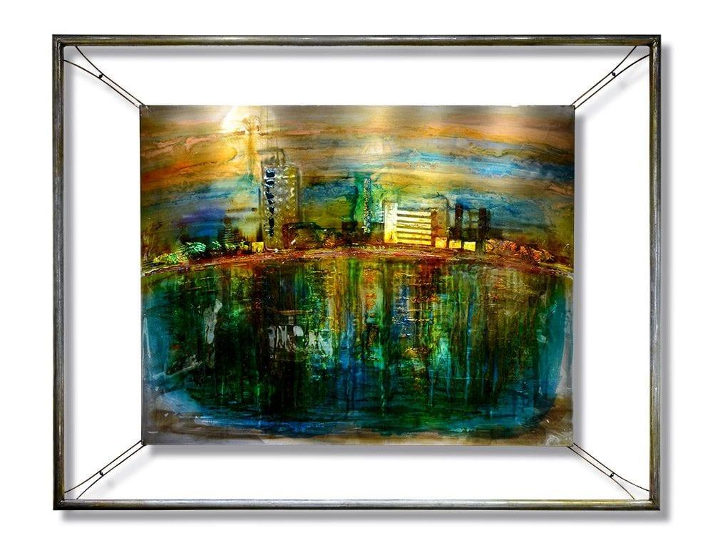 Current Reflection   Lynn Demiurge   Wall Art-Exposures International Gallery of Fine Art - Sedona AZ