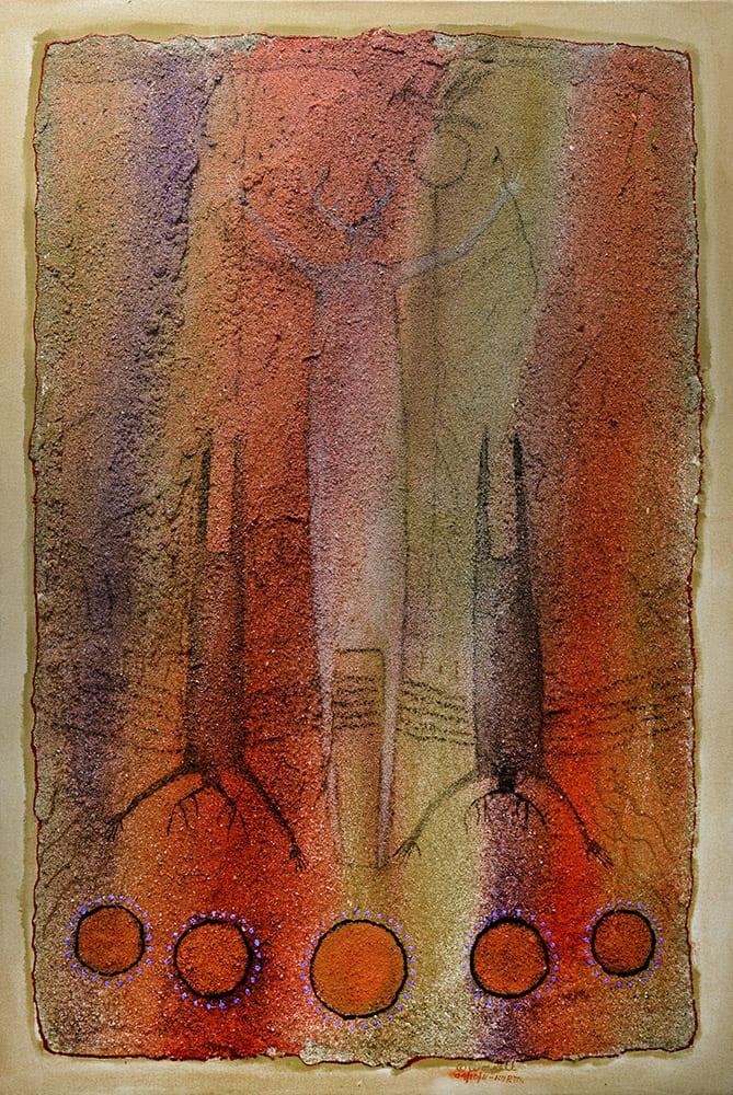 Shadows of Yesterday | Bill Worrell | Painting-Exposures International Gallery of Fine Art - Sedona AZ